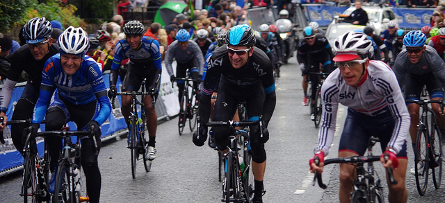 Wiggins on form at the Tour of Britain (Photo: dvdBramhall)