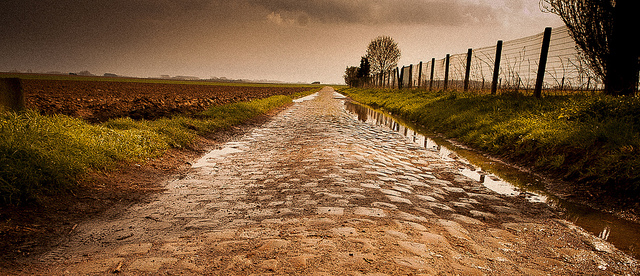 The Pave of Paris-Roubaix (Photo: franzconde)