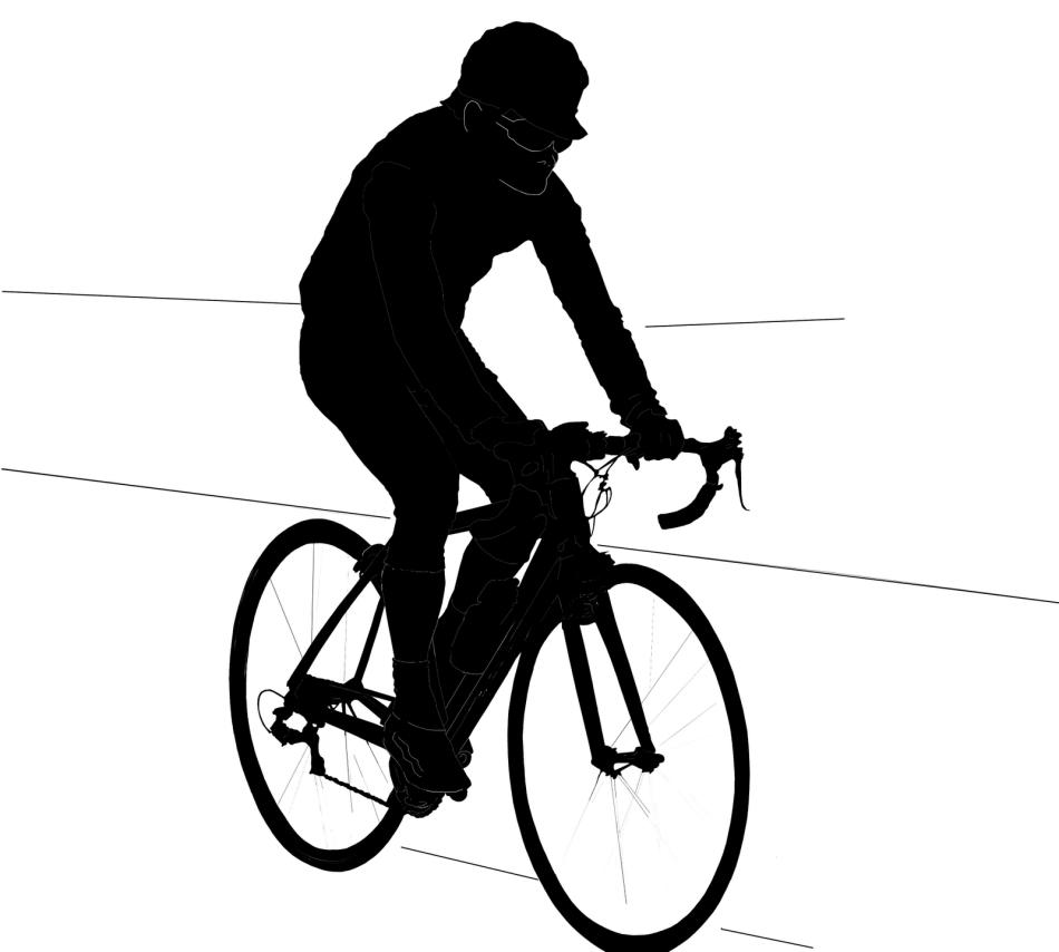 The Phantom Cyclist (Picture: Nita Jatar Kulkarni www.stockpicturesforeveryone.com)