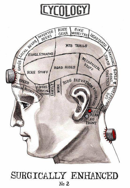 The brain of a cyclist (Photo: www.mountainbikingdiary.com)