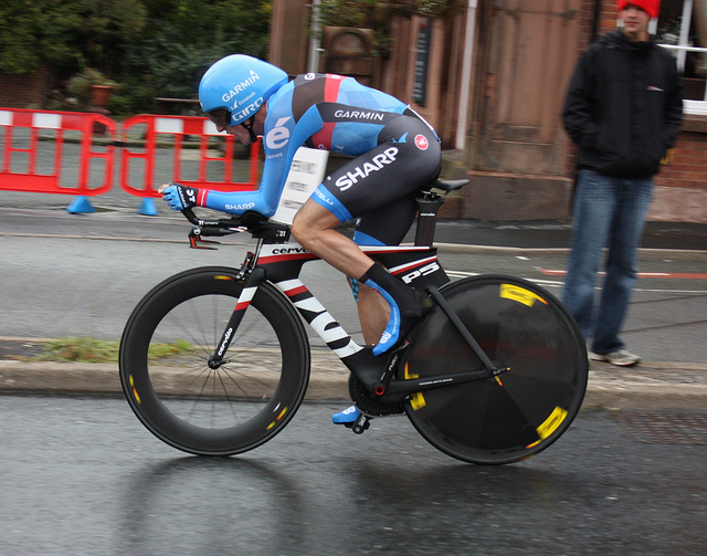 Dan Martin in Time Trial Mode (Photo: Marc - Flickr)