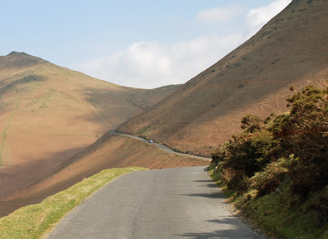 Newlands Pass - one of the many big climbs in the mighty Fred Whitton Challenge (Photo: Brian Clift)