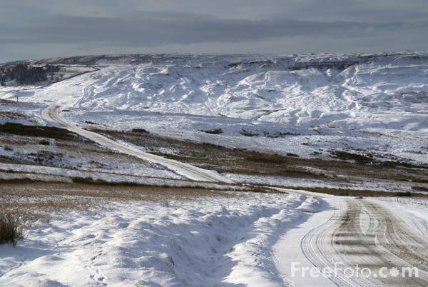 Winter Roads in North Yorkshire (Photo: freephoto.com)