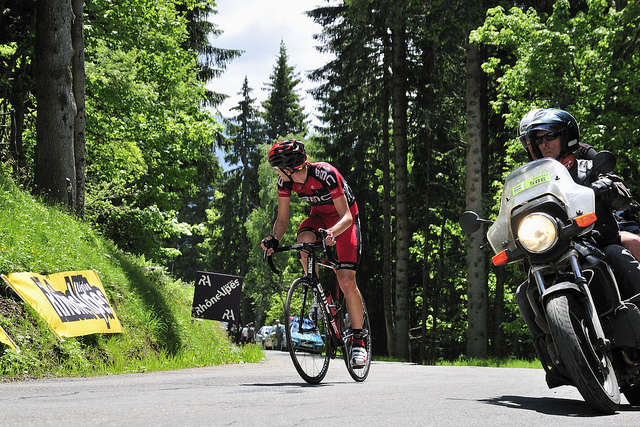 A bold move from Tejay van Garderen (Photo: Georges Menager - Flickr)