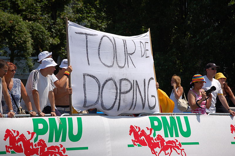 Doping Protest at the Tour de France (Photo: Wladyslaw - Flickr)