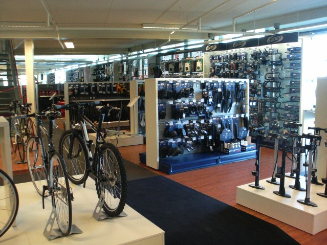 A bike shop? No, it's my mate's garage. (Photo: Ben Cooper -Flickr)