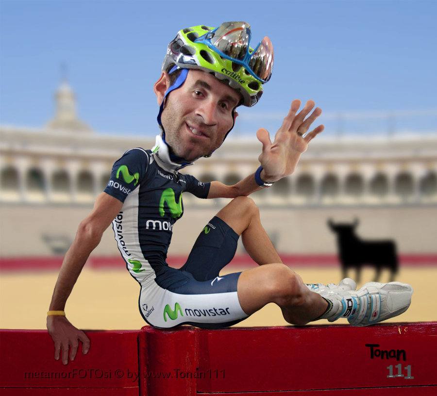 Alejandro Valverde takes race cut to the next level (Photo: Tonan111 -deviantart.com)