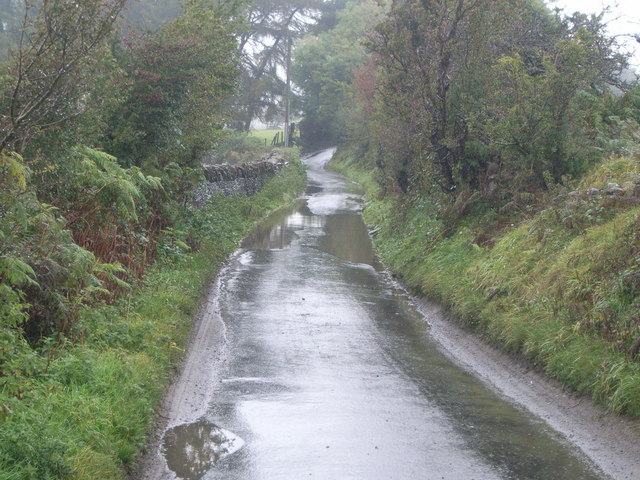 Wet road (Photo: Nicholas Mutton - geograph.co.uk CC)