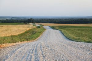 Is it just me, or is that gravel up ahead? (Photo: Ingvar Parnamae - Public Domain via Wikimedia)