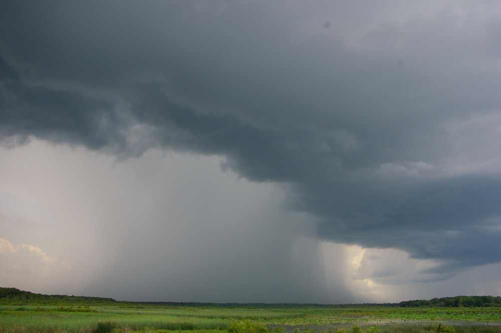 Here comes the rain - I wonder who's out in it?! (Photo: Bidgee - CC Wikipedia)