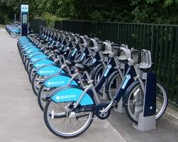 You wouldn't catch a super-commute riding a Boris Bike! (Image: Wikimedia CC)