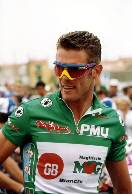 'Super' Mario Cipollini and his massive shades (Image: Eric Houdas via Wikimedia Commons CC)