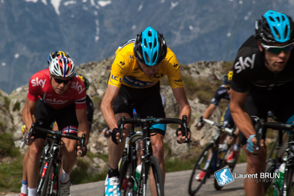 Froome in yellow (Image: petitbrun - Flickr CC)
