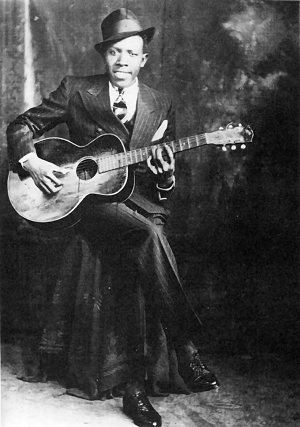 Robert Johnson (Image: Wikimedia - fair use under US copyright law)