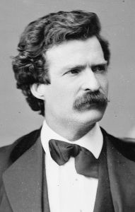 Mark Twain (Image: Library of Congress - public domain)