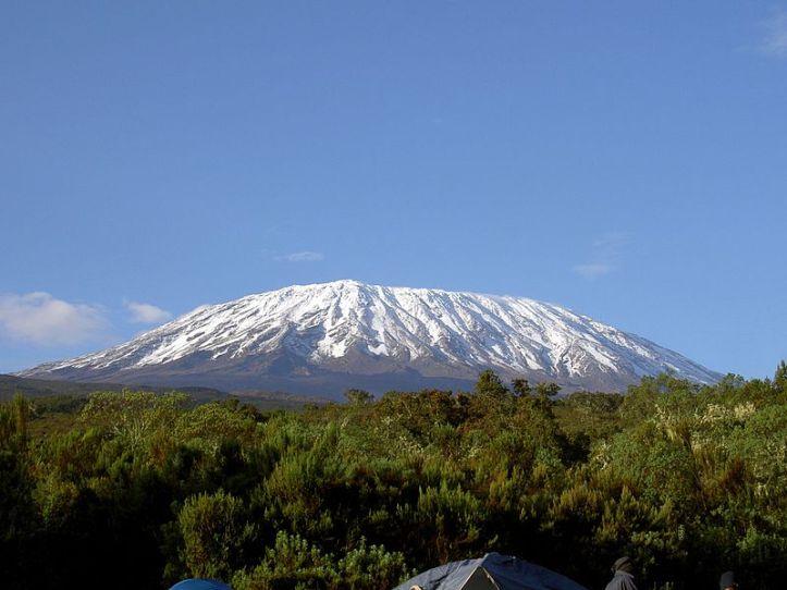 Mount Kilimanjaro (Image: via Wikipedia under creative commons license)