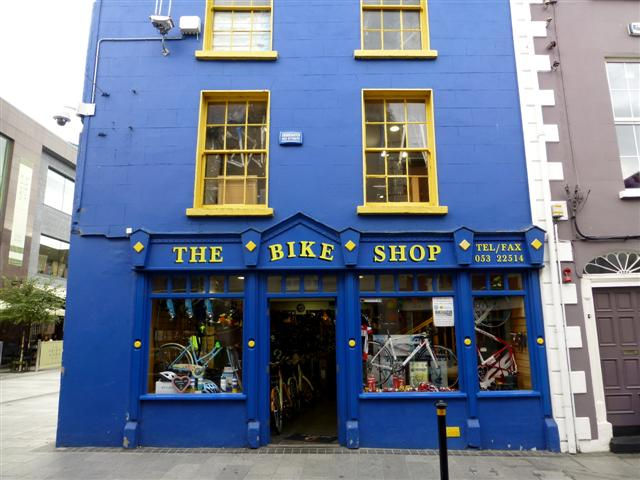 Bike Shop (Image: www.geograph.ie - CC)