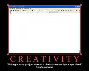 Creativity according to Douglas Adams (Image: alun - Flickr CC)
