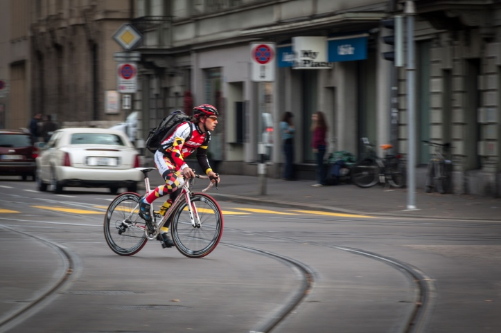 Cyclist or terrorist? (Image: Wikimedia Commons)