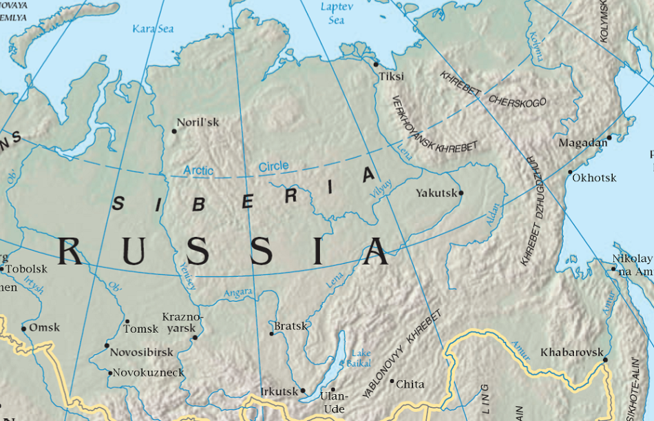 Siberia - favourable riding conditions? (Image: Wikimedia Commons)
