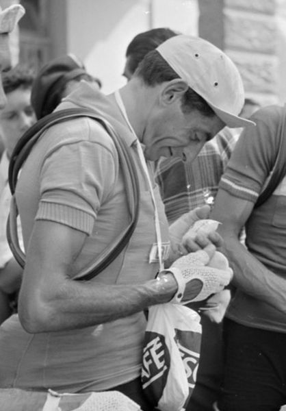 Fausto Coppi and Casquette (Image: Nationaal Archief Fl;ickr CC)