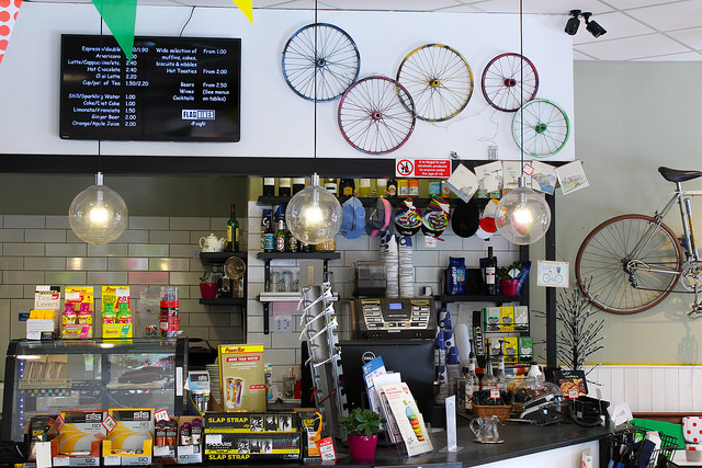 Cyclist's Cafe (Image: Andreas Kambanis via Flickr cc)