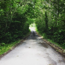 Mysterious country lane (image: ragtimecyclist)