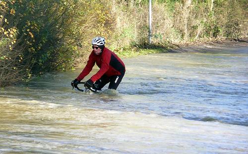cycling flood