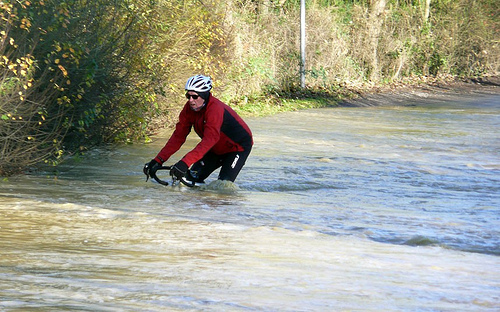 cycling flood