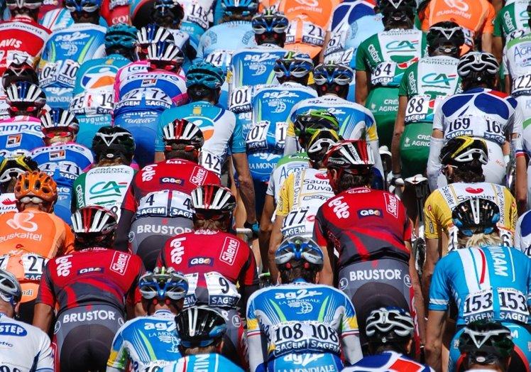 The pro peloton