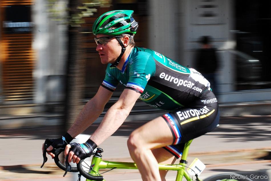 Thomas Voeckler in Europcar kit