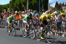 Tour de France 2016 Stage 11 (Image: Sapin88 via Wikimedia cc)