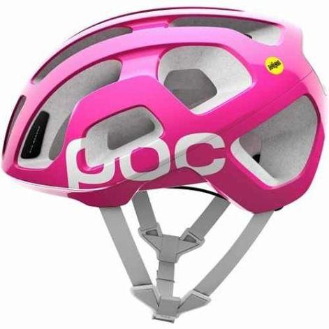 poc pink helmet