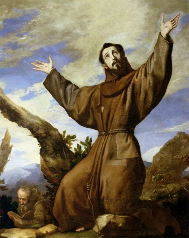 St. Francis of Assisi (c.1182-1220) 1642 (oil on canvas)