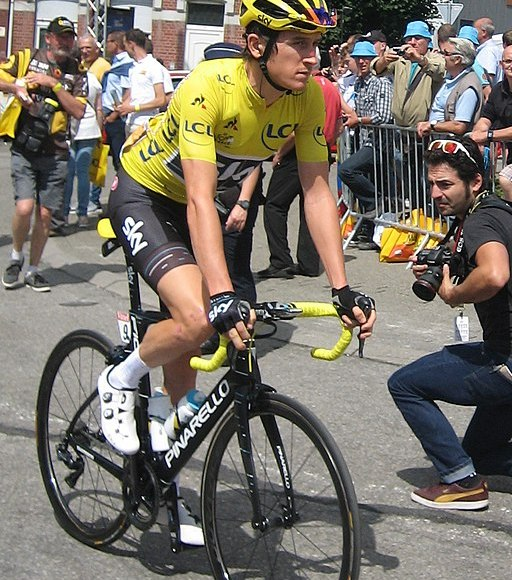 Geraint Thomas Yellow Jersey