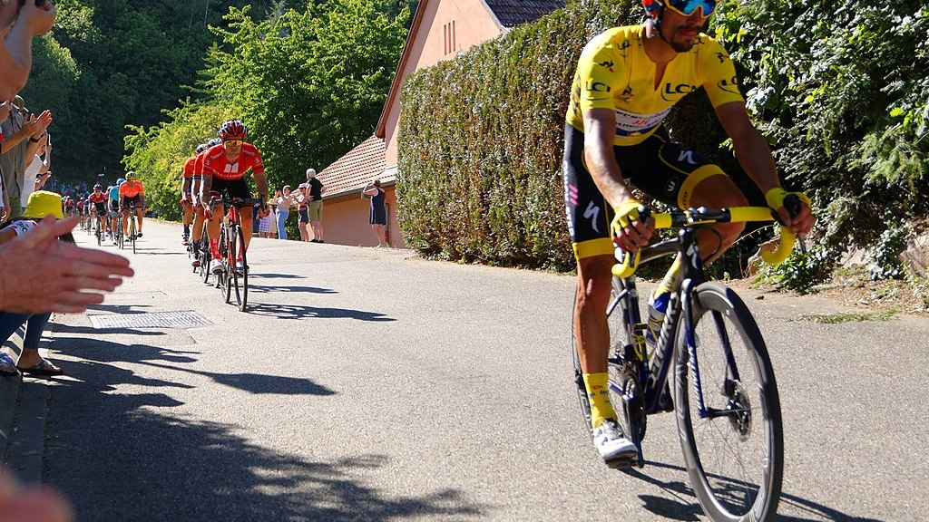Julian Alaphilippe Yellow Jersey