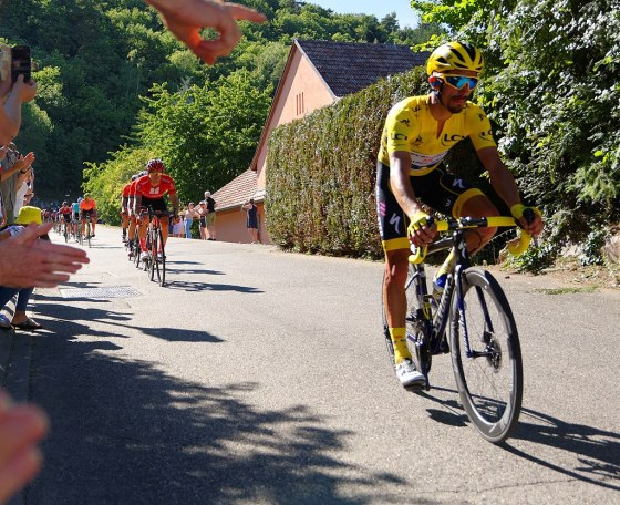 Julian Alaphilippe Yellow Jersey