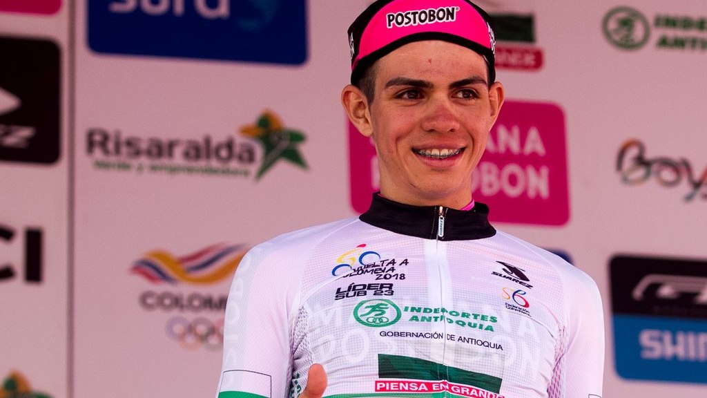 Sergio Higuita cyclist