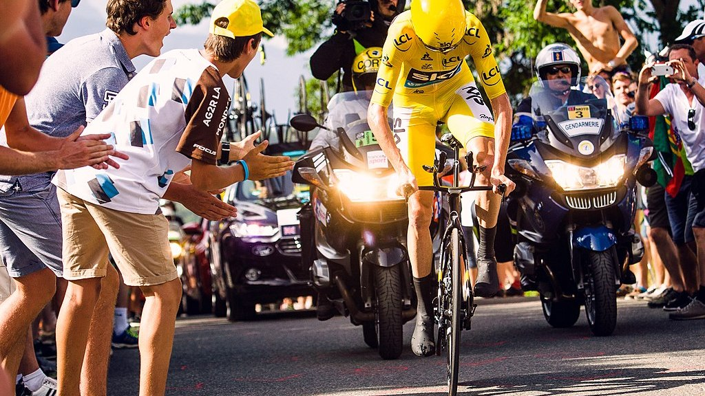 Chris Froome Cyclist
