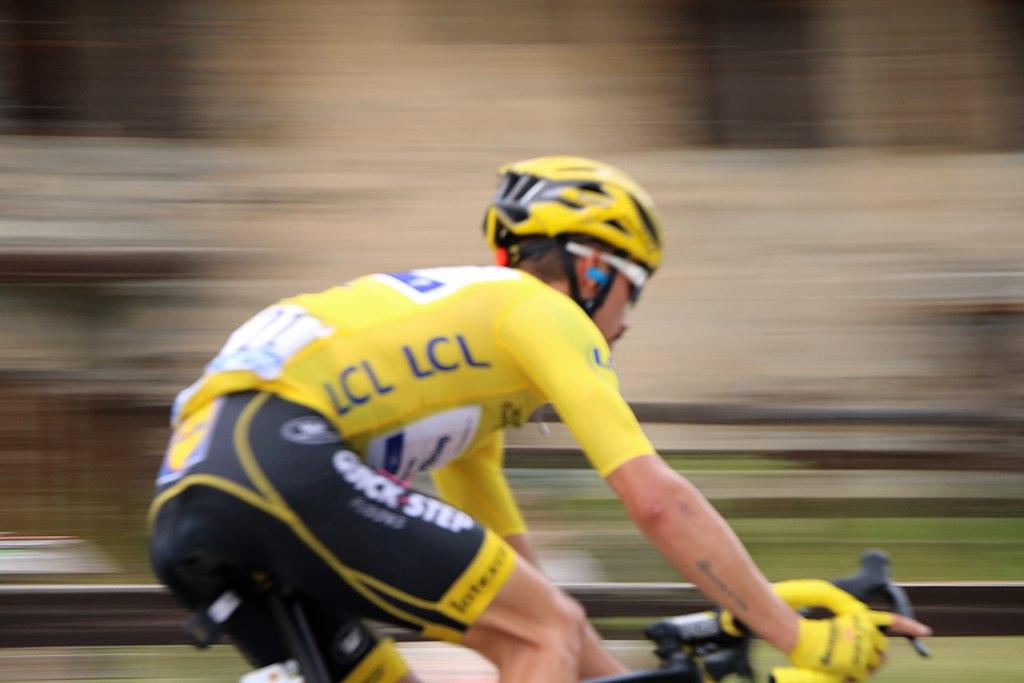 Julian Alaphilippe Yellow Jersey Tour de France