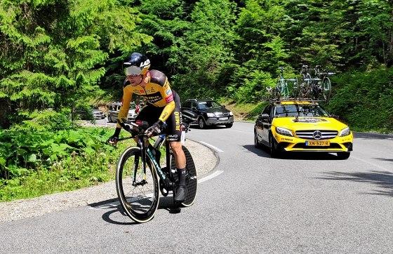 Primoz Roglic cyclist Jumbo Visma